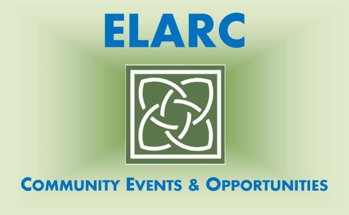 ELARC Events and Opptys